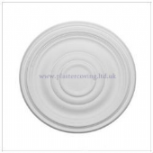 "15"" Plain Plaster Ceiling Rose 387mm"